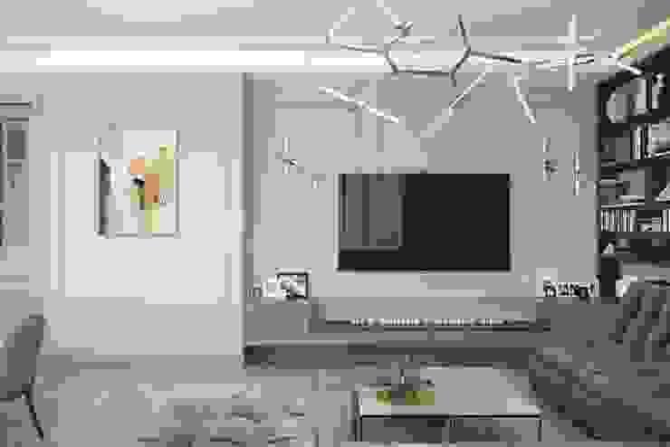 Salon classique par Дизайн студия Алёны Чекалиной Classique