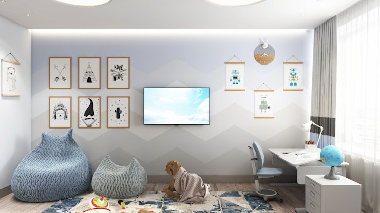Chambre d'enfant classique par Дизайн студия Алёны Чекалиной Classique