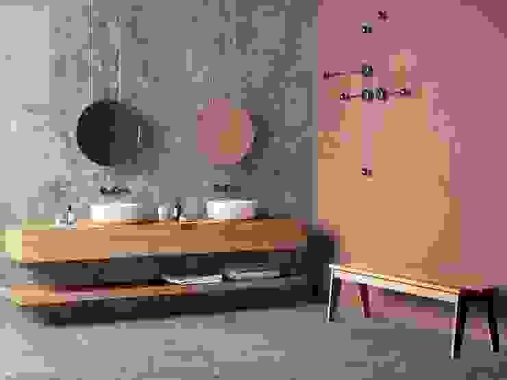 homify Bagno moderno Ceramica Metallizzato/Argento