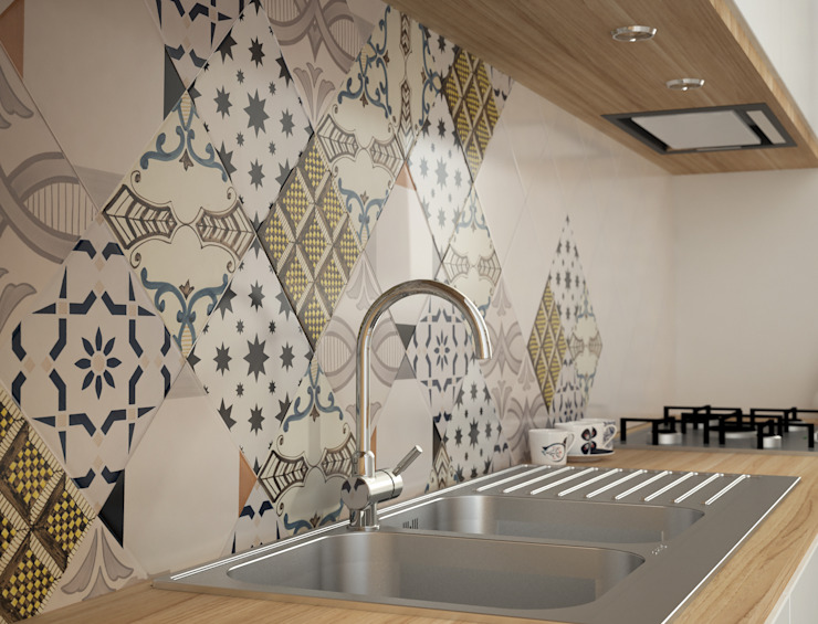 CERAMICHE MUSA Dapur Modern
