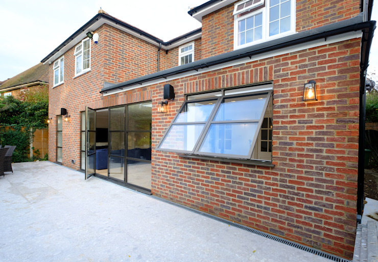 Sieger Legacy windows and door Modern Windows and Doors by IQ Glass UK Modern Aluminium/Zinc