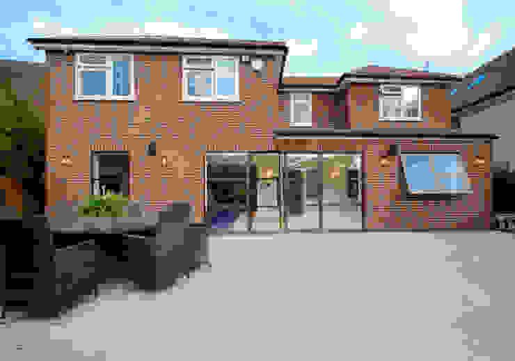 Sieger Legacy windows and door IQ Glass UK Modern windows & doors Aluminium/Zinc Brown