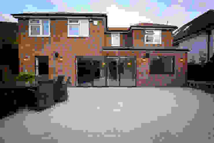 Sieger Legacy windows and door IQ Glass UK Zen garden Aluminium/Zinc Brown