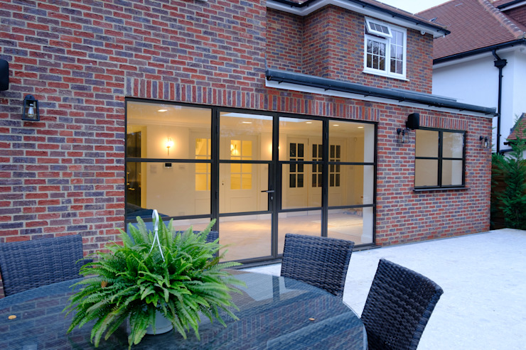 Sieger Legacy windows and door de IQ Glass UK Moderno Aluminio/Cinc