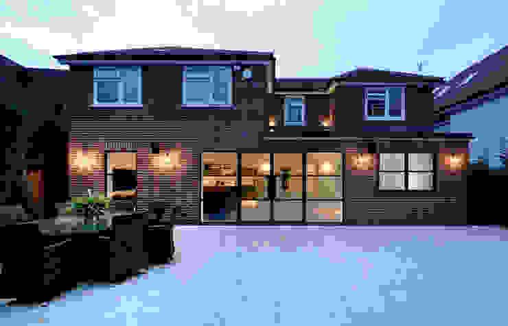 Sieger Legacy windows and door IQ Glass UK Basement windows Aluminium/Zinc Brown