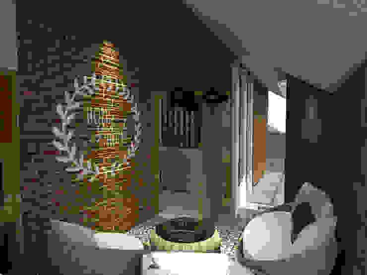 RZ House (Design Ruang Depan) Oleh Studié