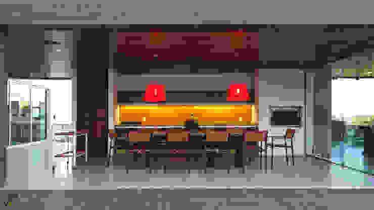 Arquitetura Sônia Beltrão & associados Country house Yellow
