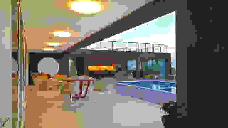 Arquitetura Sônia Beltrão & associados Country house Wood effect