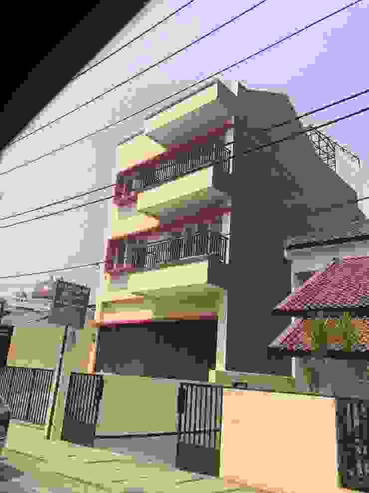 Ruko Meruya Kantor & Toko Minimalis Oleh KHK Construction Minimalis