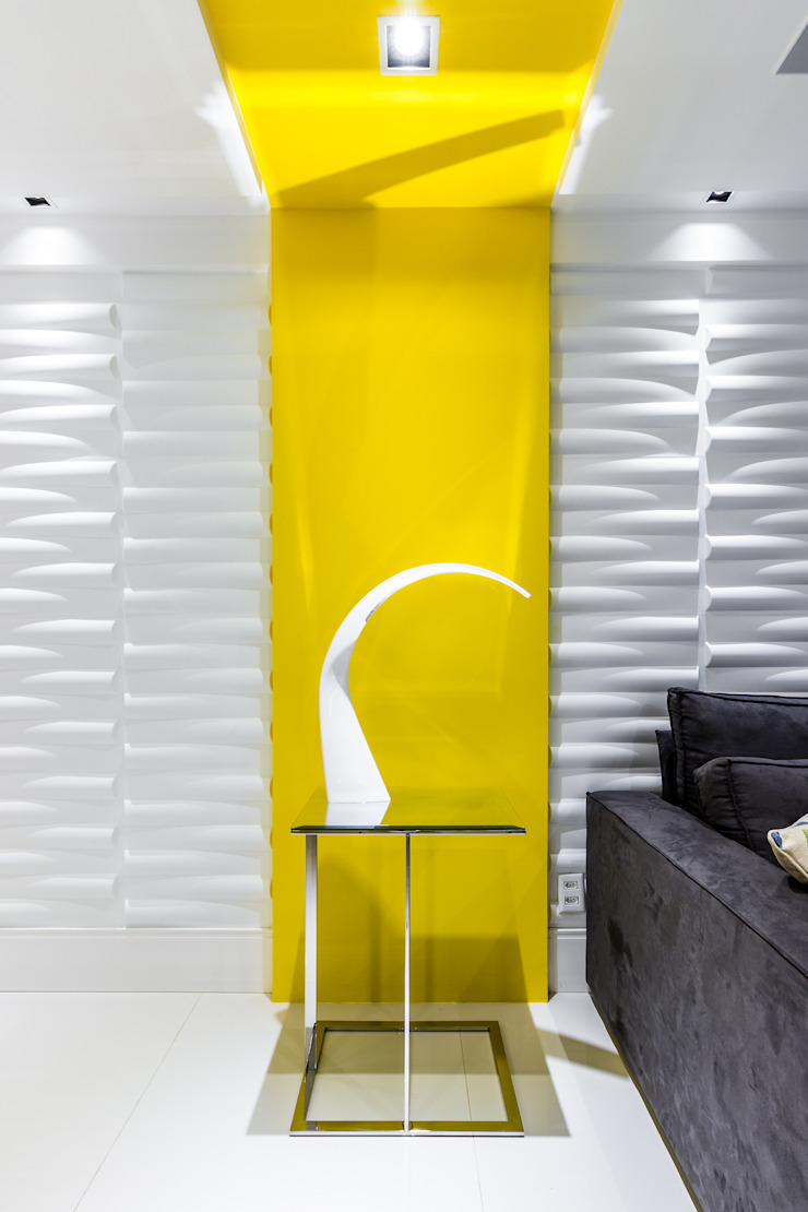 Arquitetura Sônia Beltrão & associados Living roomAccessories & decoration Yellow