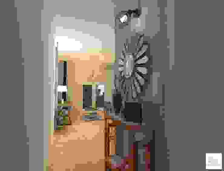 Corredores, halls e escadas escandinavos por Arquimundo 3g - Diseño de Interiores - Ciudad de Buenos Aires Escandinavo Cerâmica