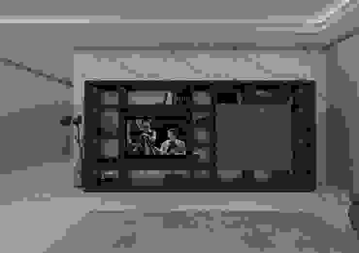 Salon moderne par PRATIKIZ MIMARLIK/ ARCHITECTURE Moderne