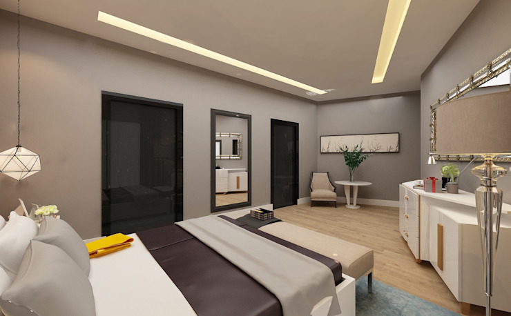 Bedroom by PRATIKIZ MIMARLIK/ ARCHITECTURE,