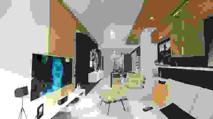 Livings modernos: Ideas, imágenes y decoración de Sônia Beltrão Arquitetura Moderno Madera Acabado en madera