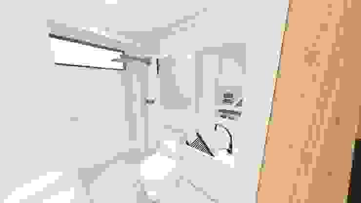Minimalistyczna łazienka od Arquitetura Sônia Beltrão & associados Minimalistyczny