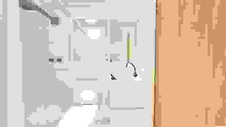 Baños de estilo moderno de Arquitetura Sônia Beltrão & associados Moderno