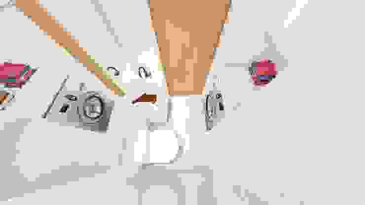 Nowoczesna łazienka od Arquitetura Sônia Beltrão & associados Nowoczesny