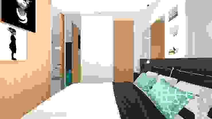 Habitaciones modernas de Arquitetura Sônia Beltrão & associados Moderno Madera Acabado en madera