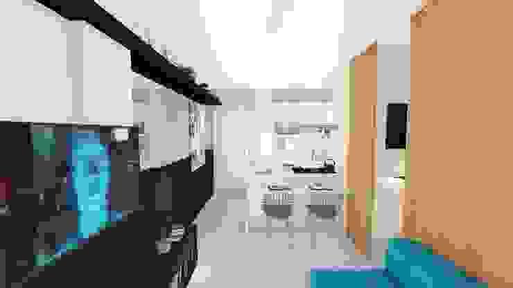Modern living room by Arquitetura Sônia Beltrão & associados Modern MDF