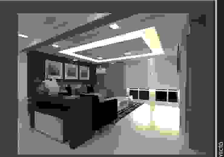 Living room by Arq. Vianey Pineda