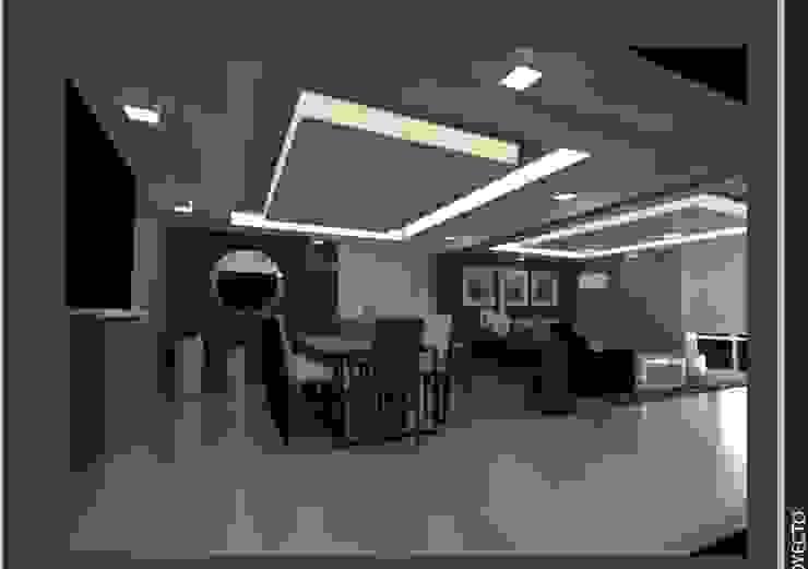 Dining room by Arq. Vianey Pineda