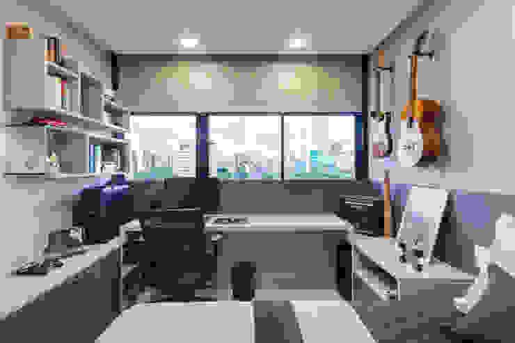Moderne slaapkamers van Arquitetura Sônia Beltrão & associados Modern MDF