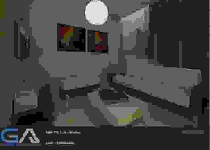 Modern living room by Gomar Arquitectura Modern