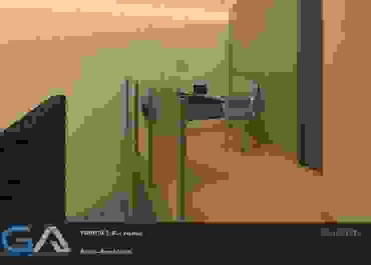 Modern study/office by Gomar Arquitectura Modern