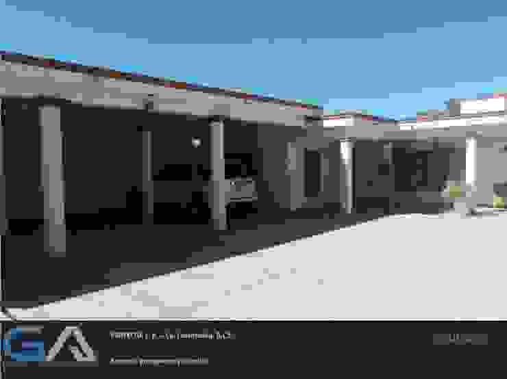 J. R. - Cd. Constitución B.C.S. Casas rústicas de Gomar Arquitectura Rústico