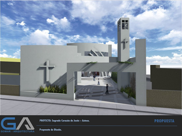 Sagrado corazon de Jesús de Gomar Arquitectura