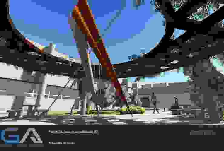 Área de esparcimiento ITT de Gomar Arquitectura