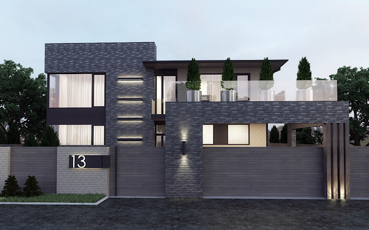studio forma Country house Bricks