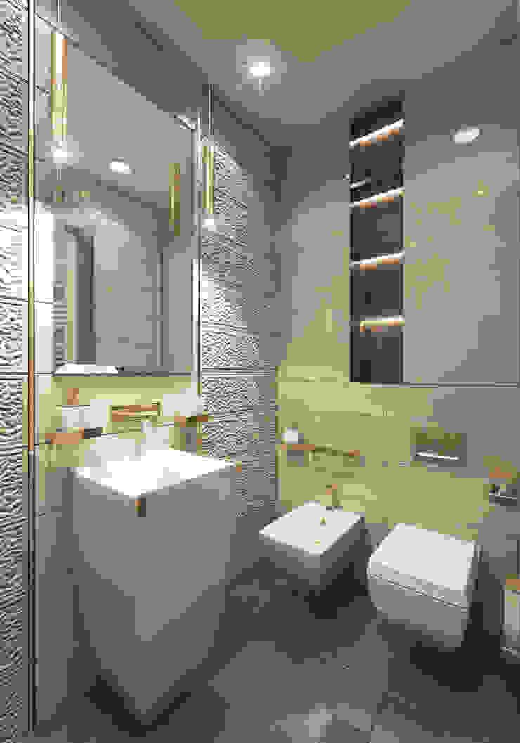 Klassische Badezimmer von GLAZOV design group концептуальная студия дизайна интерьеров Klassisch