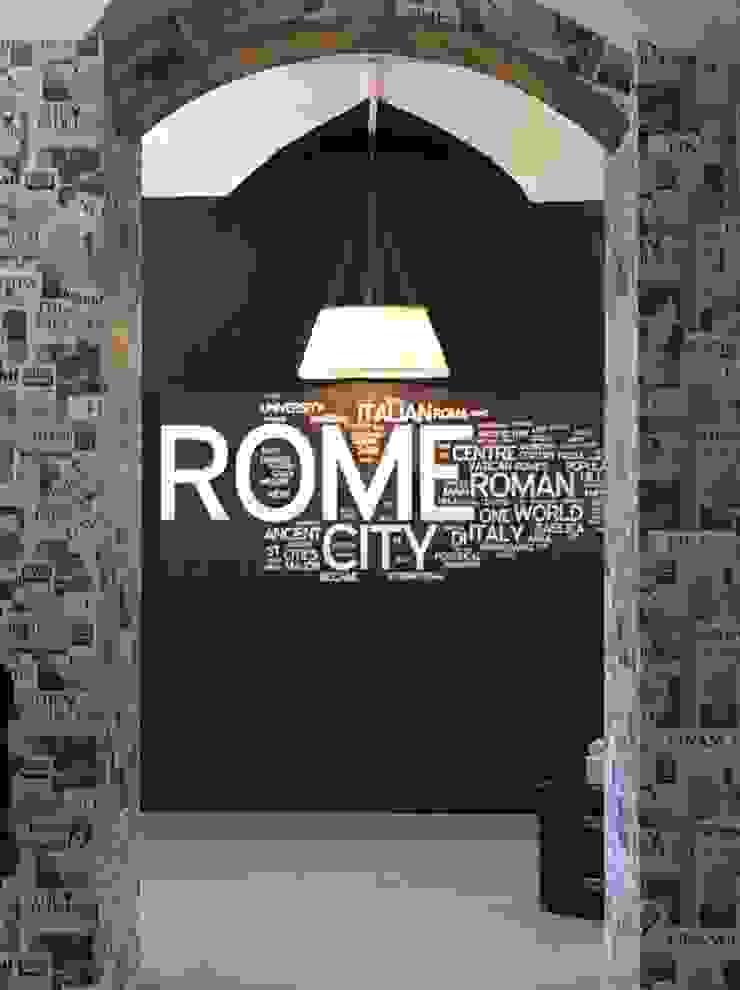 Sala relax - Dopo Ingresso, Corridoio & Scale in stile eclettico di Antonella Petrangeli Eclettico