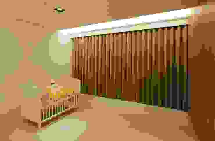 嬰兒房先簡單留白為未來預留 根據 直方設計有限公司 現代風