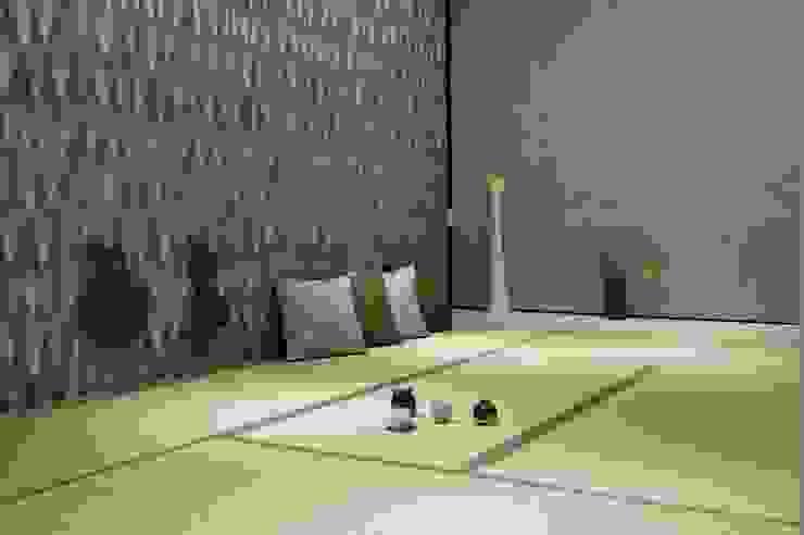 Tường & sàn phong cách nhiệt đới bởi 直方設計有限公司 Nhiệt đới