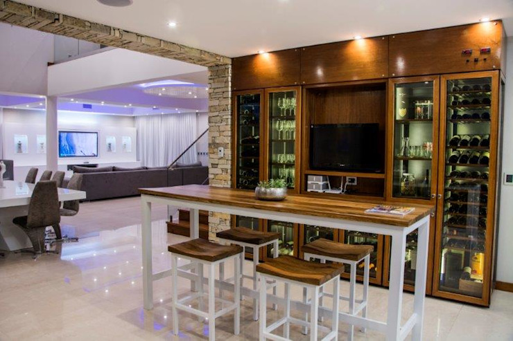 Casa La Reserva Cardales Comedores modernos de ARQCONS Arquitectura & Construcción Moderno