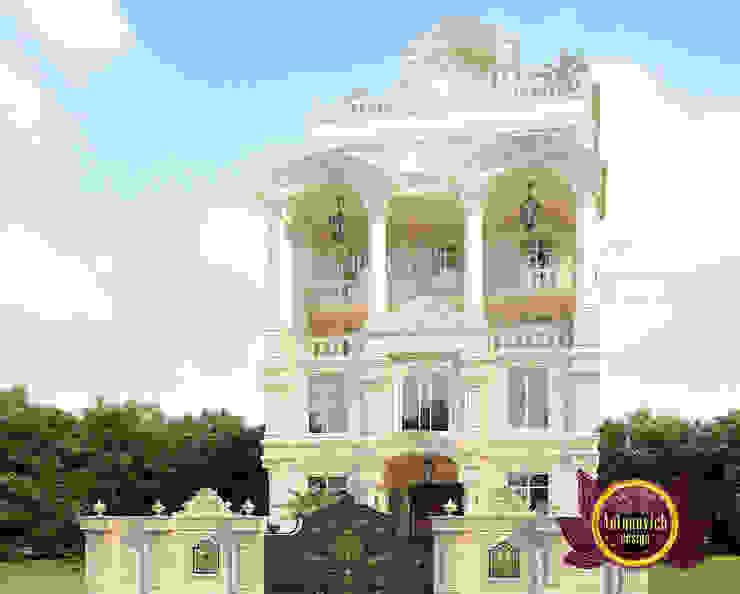 Bangladesh Luxury Exterior Design by Luxury Antonovich Design