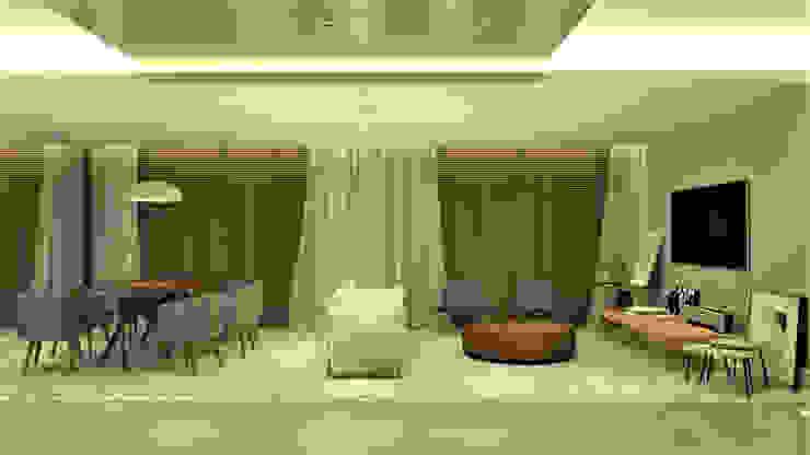HOME LIVING & DINNING Salas de estar modernas por Pedro Ivo Fernandes | Arquiteto e Urbanista Moderno