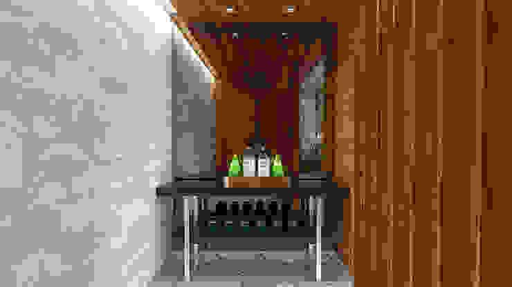 HOME LIVING DINNING & LOUNG Corredores, halls e escadas modernos por Pedro Ivo Fernandes | Arquiteto e Urbanista Moderno