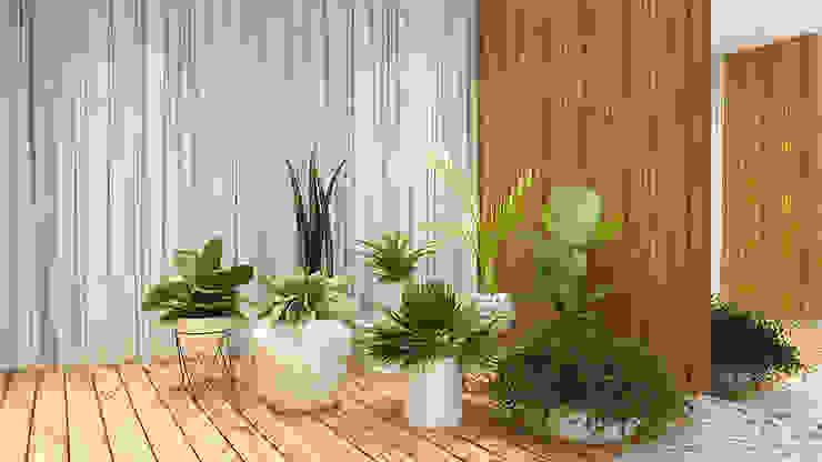HOME LIVING DINNING & LOUNG Jardins de inverno modernos por Pedro Ivo Fernandes | Arquiteto e Urbanista Moderno