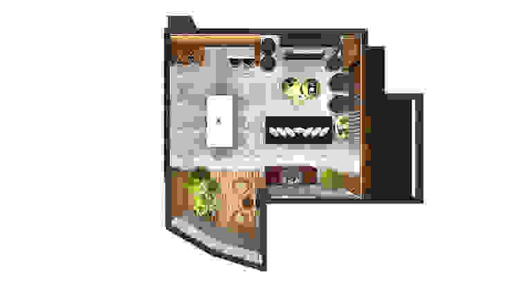 HOME LIVING DINNING & LOUNG Salas de estar modernas por Pedro Ivo Fernandes | Arquiteto e Urbanista Moderno