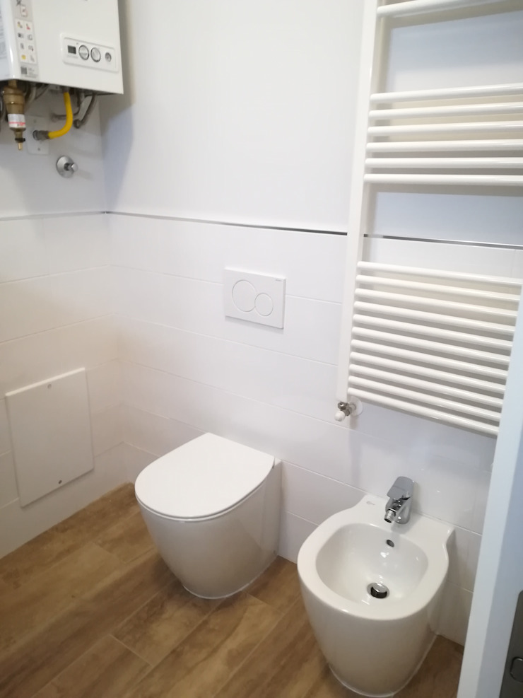 Architetto Alberto Colella Modern Bathroom