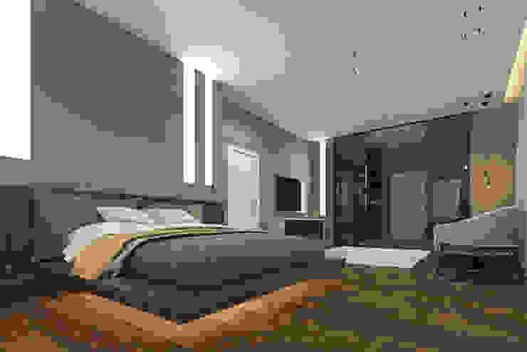 Kamar Tidur Gaya Industrial Oleh pashchak design Industrial