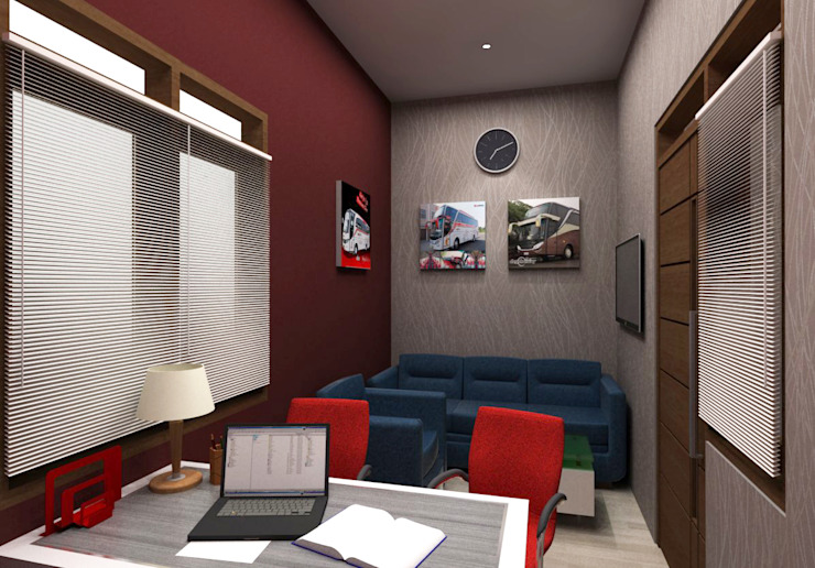 Modern offices & stores by Maxx Details Modern
