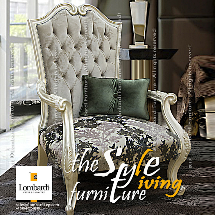 Premium Seating Furniture for Interior Design Projects & Retail Showrooms … inspired by Lombardi Furniture!!: classic  by Lombardi Furniture , Classic