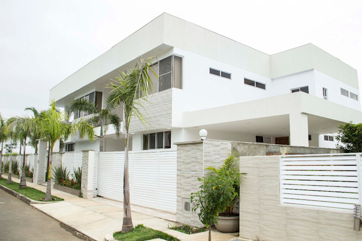 Casa gino, valle verde jamundi Casas de estilo minimalista de Am arquitectura Minimalista