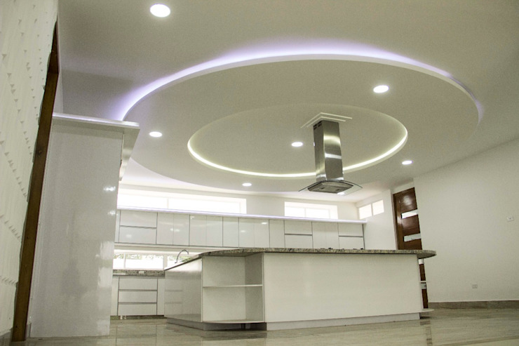 Casa gino, valle verde jamundi Cocinas de estilo minimalista de Am arquitectura Minimalista