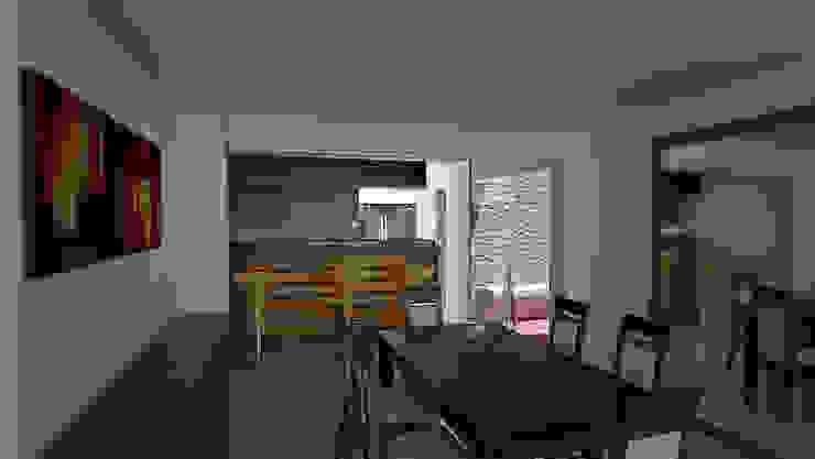 Casa prados del norte,cali Comedores de estilo moderno de Am arquitectura Moderno