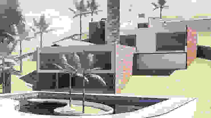 Casa abelardo, las pilas jamundi Casas de estilo minimalista de Am arquitectura Minimalista